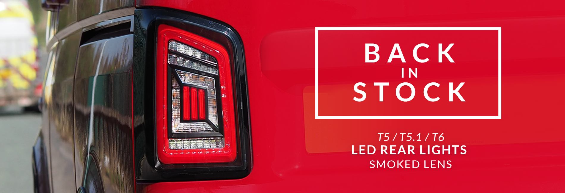 Back in stock LED lights