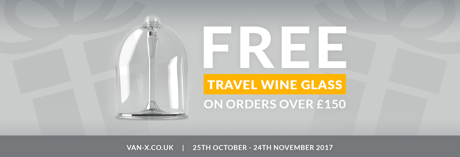 FREE GIFT: VAN-X TRAVEL WINE GLASS