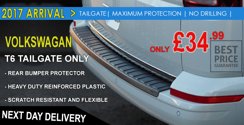 BRAND NEW: VAN-X Volkswagen VW T5 Rear LED Lights Upgraded   NEW FOR 2017   TAILGATE AND BARNDOOR   £199.99