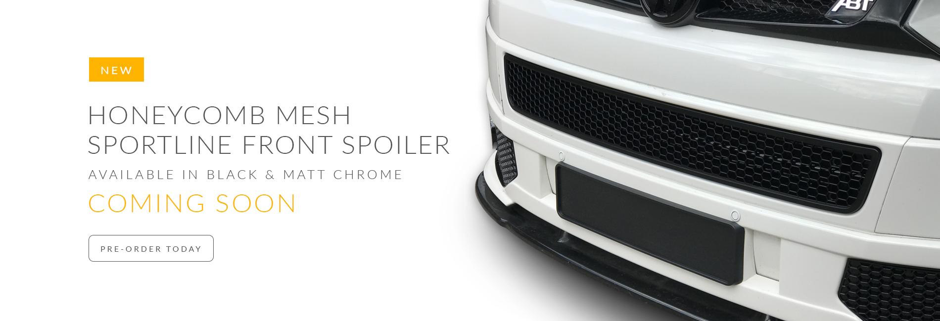 BRAND NEW: VAN-X Volkswagen VW T5 &T5.1 Transporter Honeycomb mesh grille