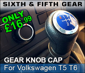 NEW FOR MAY - Fifth and sixth gear cap knob for Volkswagen vw t5 and t6