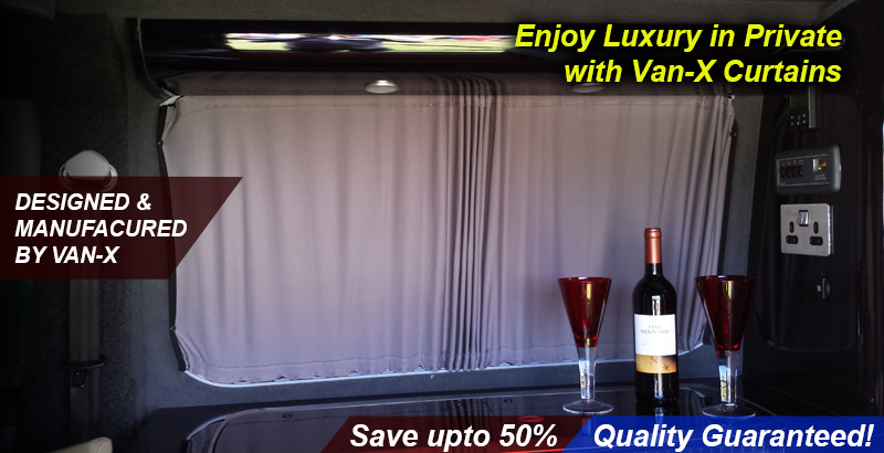 Exclusive to Van-X Curtain Kits