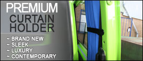 VAN-X Premium Curtain Holder | SET OF 2 | Sleek | Luxury