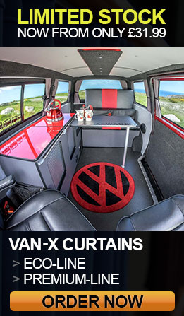 Van-X Curtains Eco & Premium limited stock, hurry and order now