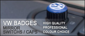 VAN-X Volkswagen VW Mirror Caps / Switches / Badges | High Quality | Professional | Multiple Colours | ONLY £4.99