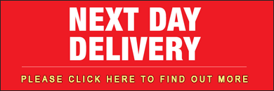 NEXT DAY DELIVERY on all orders made before 3PM