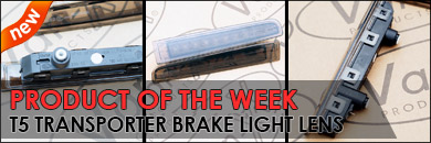 Van-X Product of the Week images. VW T5 3rd Rear Brake Light Lens