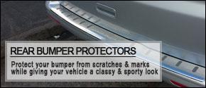 VAN-X Volkswagen VW T5 Transporter Rear Bumper Protectors | T5 & T5.1