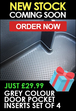 VW T5 Rubber Silicon Door Pocket Inserts Coming Soon - PRE-ORDER NOW