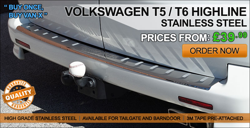 VAN-X HIGHLINE Range | Stainless Steel | FROM £39.99 | NEXT DAY DELIVERY