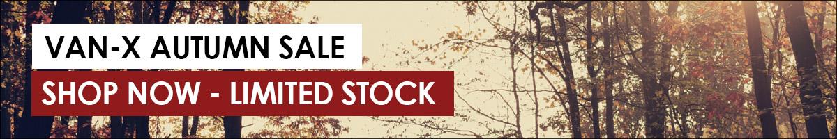 VAN-X AUTUMN SALE: Plenty of new items now in stock > SHOP NOW