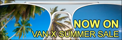 Summer sale now on at van-x, don't miss out