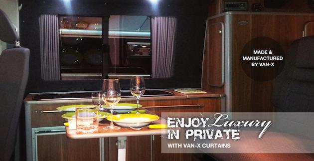 Van-X Curtains Premium-Line & Eco-Line Collection