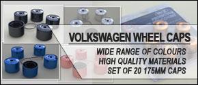 VAN-X Volkswagen VW Wheel Caps / Nuts | SET OF 20 | Multiple Colours Available