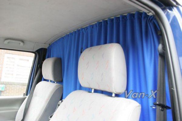 Cab Divider Curtain Kit for VW T4 Transporter-3217