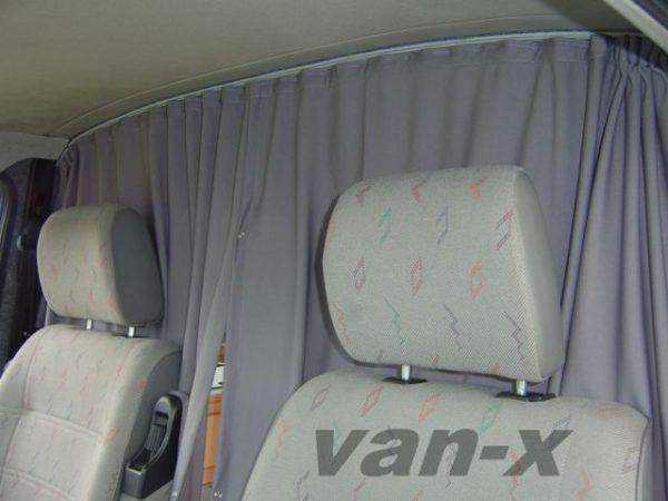 Cab Divider Curtain Kit for Vauxhall Vivaro-1183