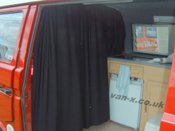 Cab Divider Curtain Kit for VW T3 Transporter-19333