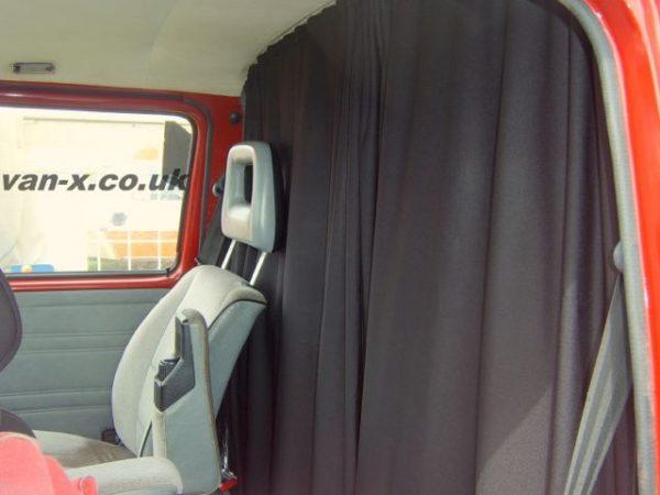 Cab Divider Curtain Kit for VW T4 Transporter-3216