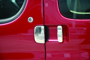 Door Handle Covers (3 Pcs) for Citroen Berlingo / Peugeot Partner Stainless Steel -1246