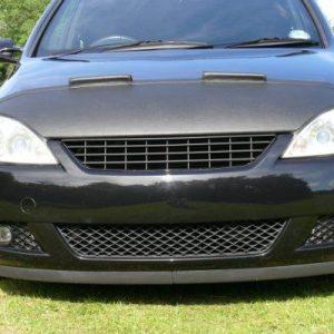 Half Bonnet Bra + Wind Deflectors for Vauxhall Corsa C-1187