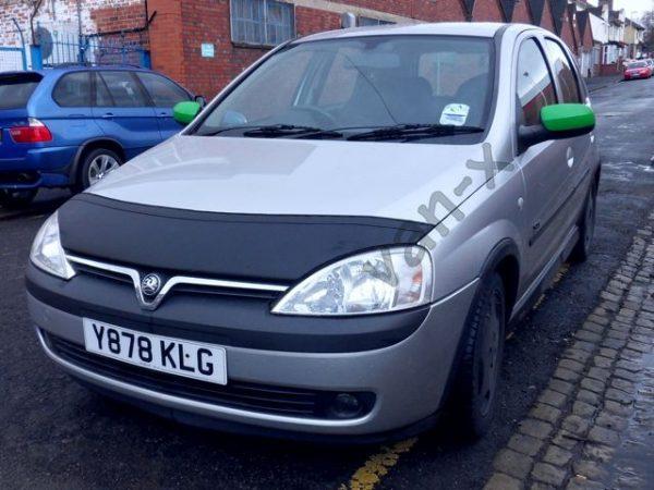 Half Bonnet Bra / Cover Black for Vauxhall Corsa C -2904