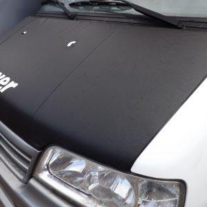 Bonnet Bra / Cover Black Boxer Logo for Peugeot Boxer-2088