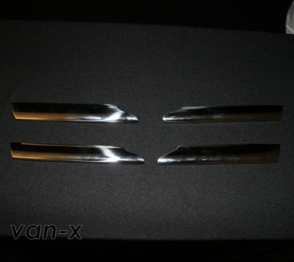 Stainless Steel Front Fog Light Trims for MAN TGX-3427