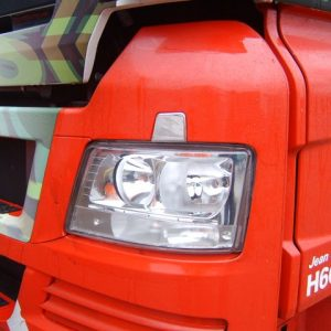 Stainless Steel Front Headlamp Washer Trim for MAN TGX-3465