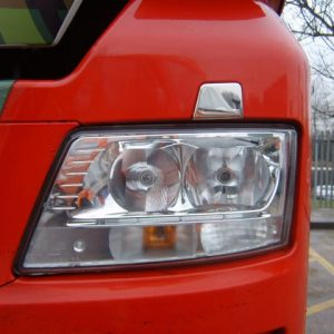 Stainless Steel Front Headlamp Washer Trim for MAN TGX-3466