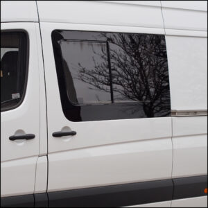 Side Window Sliding Glass for Mercedes Sprinter SWB-6375