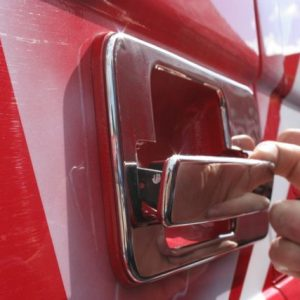 Stainless Steel Door Handle Covers for Mercedes Actros-3476