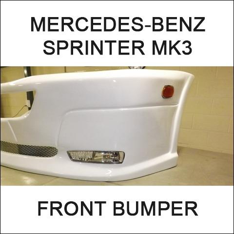 Van-X Front Bumper for Mercedes Sprinter-3831