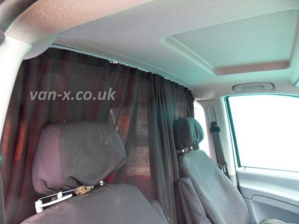 Cab Divider Curtain Kit for Mercedes Vito-1129