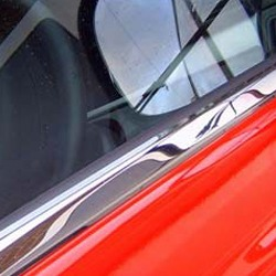 Window Sill Covers for Mercedes Vito Stainless Steel -19477