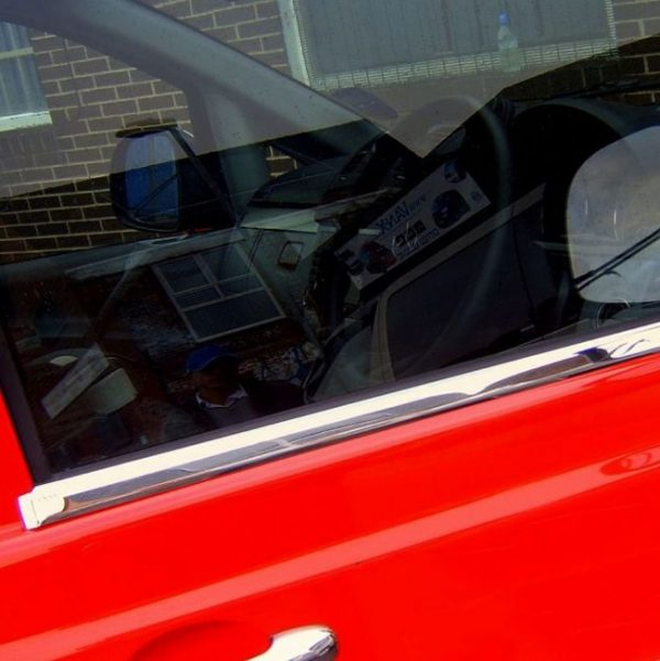 Window Sill Covers for Mercedes Vito Stainless Steel -0