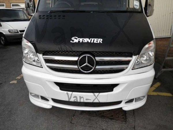 Bonnet Bra / Cover Sprinter Logo for Mercedes Sprinter (2006 - Early 2014)-3596