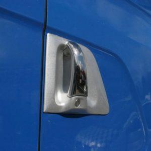 Stainless Steel Door Handle Covers Scania R & 4 Series-3459
