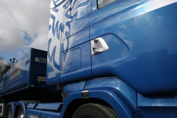 Stainless Steel Door Handle Covers Scania R & 4 Series-3460