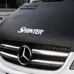 Bonnet Bra / Cover Sprinter Logo for Mercedes Sprinter (2006 - Early 2014)-19458