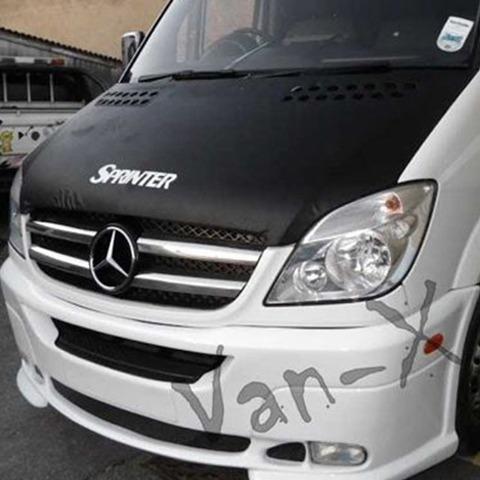 Bonnet Bra / Cover Sprinter Logo for Mercedes Sprinter (2006 - Early 2014)-0