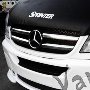 Front Grille (4 Pcs) for Mercedes Sprinter MK3 Stainless Steel -0