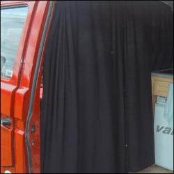 Cab Divider Curtain Kit for VW T3 Transporter-6166