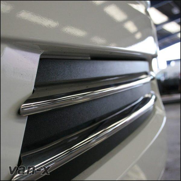 Stainless Steel Front Fog Light Trims (4 Pcs) for MAN TGX-3420