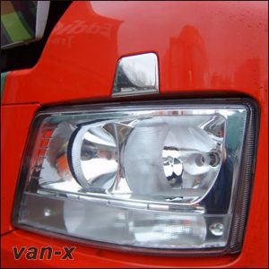 Stainless Steel Front Headlamp Washer Trim for MAN TGX-3467