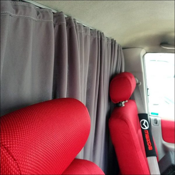Cab Divider Curtain Kit for Mazda Bongo-7835