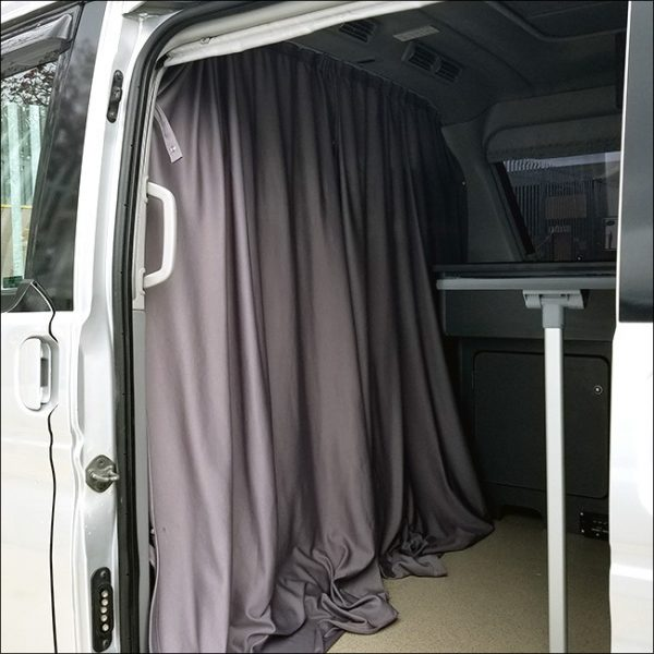 Cab Divider Curtain Kit for Ford Freda-7851