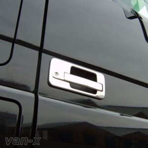 Stainless Steel Door Handle Covers for Mercedes Actros-0