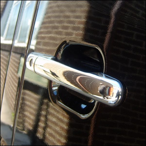 Door Handle Covers (4 Pcs) for Mercedes Sprinter MK2 Stainless Steel -3881