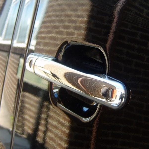 Door Handle Covers (4 Pcs) for Mercedes Sprinter MK2 Stainless Steel -19455