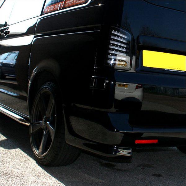 Rear Bumper Corner Spoiler for VW T5 Transporter-6759